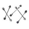 Mounty Lite-Axles OS Quick releases & Thru axels grå/vit
